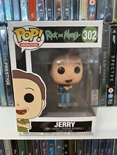 NEW OFFICIAL FUNKO POP RICK AND MORTY JERRY #302 VINYL FIGURE