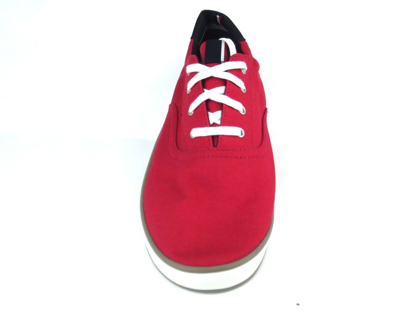 Tommy Hilfiger Sneakers TH Canvas ARLOW 3D Sneaker Herren Canvas TH Rot ROT NEW NEU 1145 2109ae