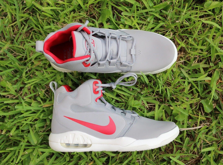 NEW Nike Uomo 12 Air Max Conversion Uomo Basketball Shoes Silver