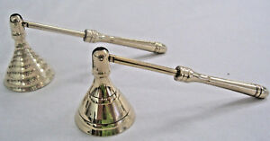New-4-034-Brass-Mini-Candle-Snuffer-Wicca-Pagan-Chime-Spell-Zen-Style