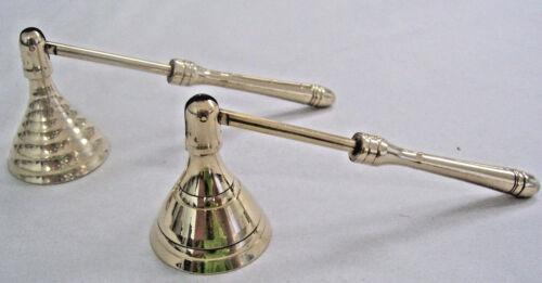 """NOUVEAU laiton 4/"""" Mini éteignoir Wicca Pagan Carillon sort, Zen Style"""