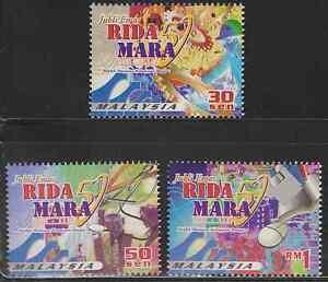 265-MALAYSIA-2000-50TH-ANNIVERSARY-OF-MARA-SET-FRESH-MNH