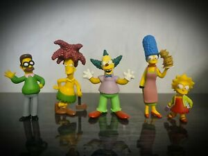 The Simpsons Figure Toy Bundle FOX Matt Groening TPF Collectable Rare
