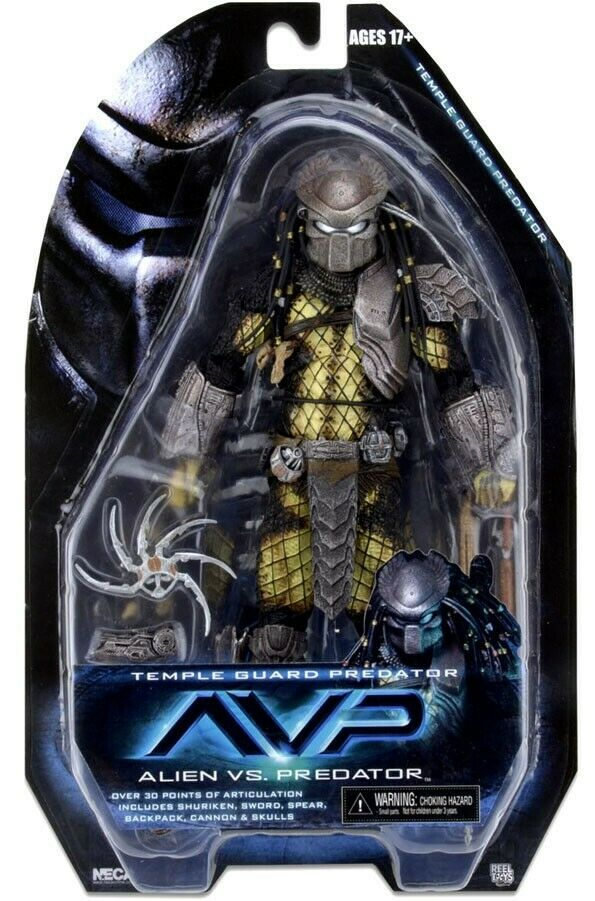 NECA Alien vs. Protator Series 15 Temple Guard Protator Action Figure