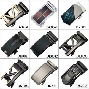 Mens-Belts-Buckles-Fit-3-3cm-to-3-6cm-Belts-Automatic-Ratchet-Alloy-Click-Gift