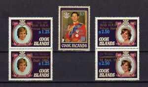16289) Cook Isl. MNH New 1984 Birth Of Henry 5v