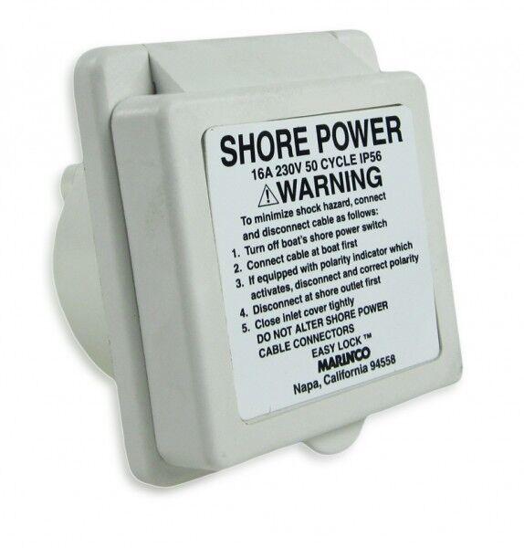 Landanschluss Steckdose 230V Yacht Stromversorgung Stromversorgung Stromversorgung 6310 62409b