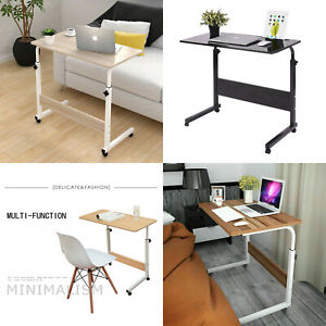 Adjustable Notebook Desk Portable Laptop Table Stand Sofa Bed Tray Computer UK