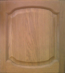 kitchen cabinet replacement doors solid oak double cathedral. Black Bedroom Furniture Sets. Home Design Ideas