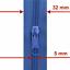 10m Reißverschluss endlos Meterware 20 Schieber//Zipper 27 Farben Spirale 5mm