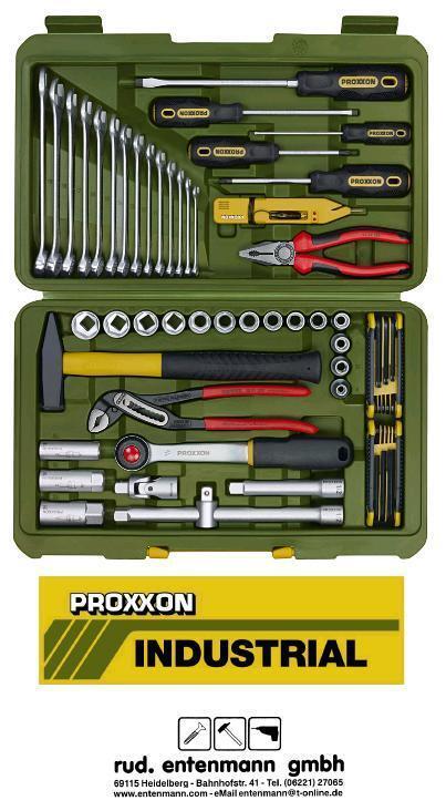 Proxxon Universal PKW Werkzeugkoffer No. 23650 Neu