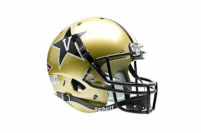 VANDERBILT COMMODORES XP SCHUTT FULL SIZE FOOTBALL HELMET
