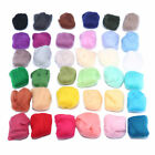 Wool Corriedale Needlefelting Top Roving Dyed Spinning Felting Fiber DIY Crafts
