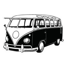 Volkswagen Bus Clipart Vector Clip Art Graphics Dxf Svg Eps Ai Png Pdf Images