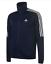 Adidas-Tiro-Poly-Trainingsanzug-Jacke-Full-Zip-Herren-Groesse-UK-36-38-navy-weiss-ref104 Indexbild 1