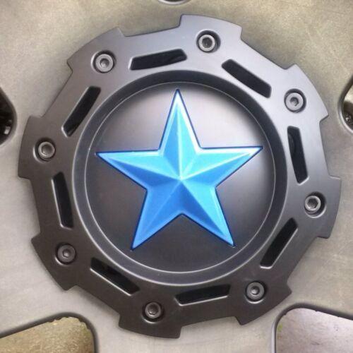5 Pewter GOLD starSKINS fit center STAR kmc XD Rockstar 775 811 827 Truck wheels
