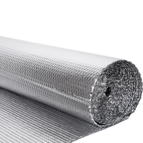 Double Foil Single Bubble Wrap Aluminum Insulation Roll 1.2m x 40m Loft Wall