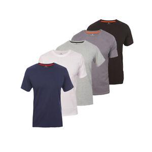 Roberto Barini Herren T-Shirt 1/3/5er Set Kurzarm Rundhals Basic S/M/L/XL/XXL