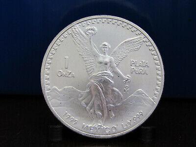 1995 Mexican Libertad Silver Onza 1 oz .999 Fine Silver Mexico BU 62819