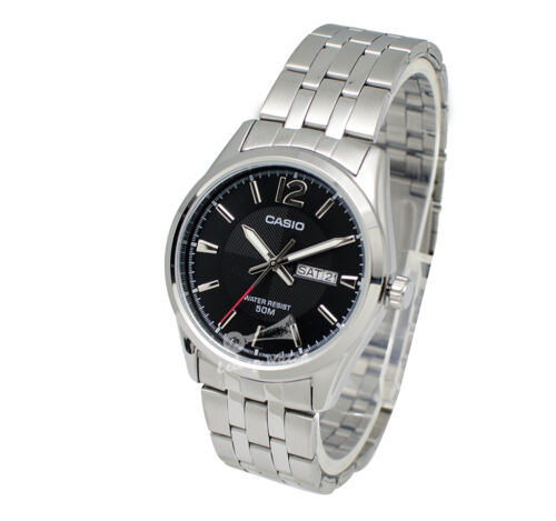 1 of 1 - -Casio MTP1335D-1A Men's Metal Fashion Watch Brand New & 100% Authentic