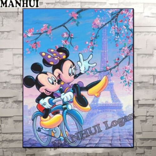 Cartoon Diamond Painting Mickey Disney Characters Picture Full Drill Craft Sale