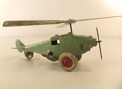 Ar Frankreich Nr. 50 Tragschrauber Mandelgrün Aus Metall Hubschrauber Motor Schrecklicher Wert