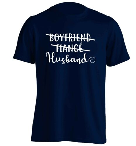 boyfriend fiance husband t-shirt wedding announcement engagement Valentine 5097