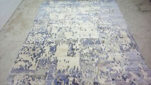 Indian-9x12-270x365-Hand-Knotted-Indo-Tibet-Nepalese-Wool-Bamboo-Silk-Carpet-Rug