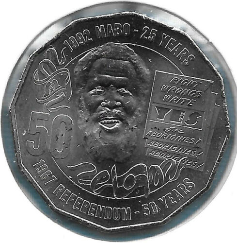 Australian 2017 Mabo 50 Cent UNC Coin