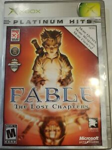 Fable: The Lost Chapters (Platinum Hits) (Microsoft Xbox, 2005) No Manual*