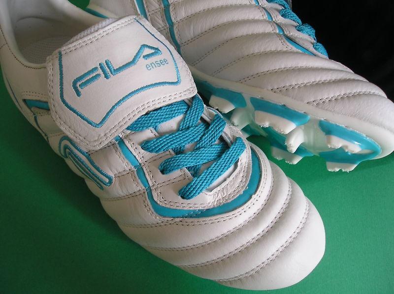 RAREnibFila ENSEEClassic Football Soccer Stiefel Leder Cleat SchuhesDamenschuhe sz sz SchuhesDamenschuhe 7 ffee19
