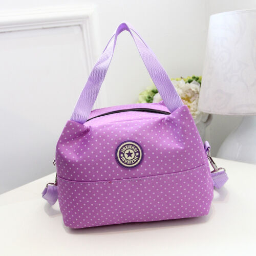JIN Pure Color Women/'s Shoulder Clutch Bag Lunch Bag Box Tote Handbag