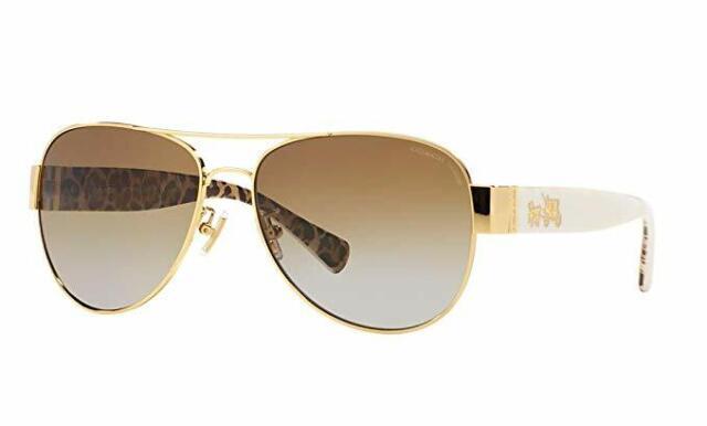 de9e842a8819 Coach Sunglasses HC 7064 Gold Brown 926513 Hc7064 56mm for sale online |  eBay