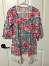 66d47ddbb6043 item 1 Lilly Pulitzer-Alia Beach Coverup Dress-Peel And Eat  Shrimp Flamingos-SZ XS-NWT! -Lilly Pulitzer-Alia Beach Coverup Dress-Peel  And Eat ...