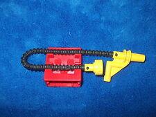Lego Duplo ritterburg bomberos 4777 + 4785 soporte manguera contra incendios rojo amarillo