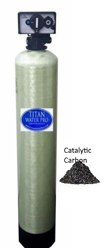Whole-House Water Filter System Catalytic Carbon 1 CU FT - Chloramine Removal