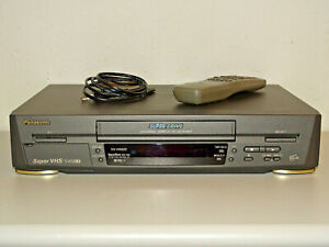 Panasonic NV-HS820 High-End S-VHS ET Videorecorder, FB&BDA, 2 Jahre Garantie