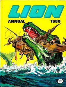 Lion-comic-Annual-1980-ft-Phantom-Force-5-Spooks-Of-St-Luke-039-s-Robot-Archie