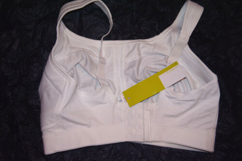 NWT PURE LIME 0098 Support Wire-free active sports bra cool max White U CHOOSE