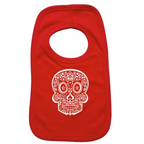 Candy Skull Funny Baby Infants Bib Napkin