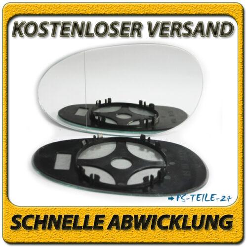 Spiegelglas für SMART FORTWO 1998-2007 links Fahrerseite asphärisch