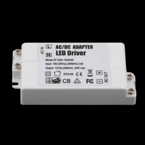 Transformator Treiber Netzteil 2A für MR16 MR11 GU5 a7 LED TRAFO 12V DC 24W max