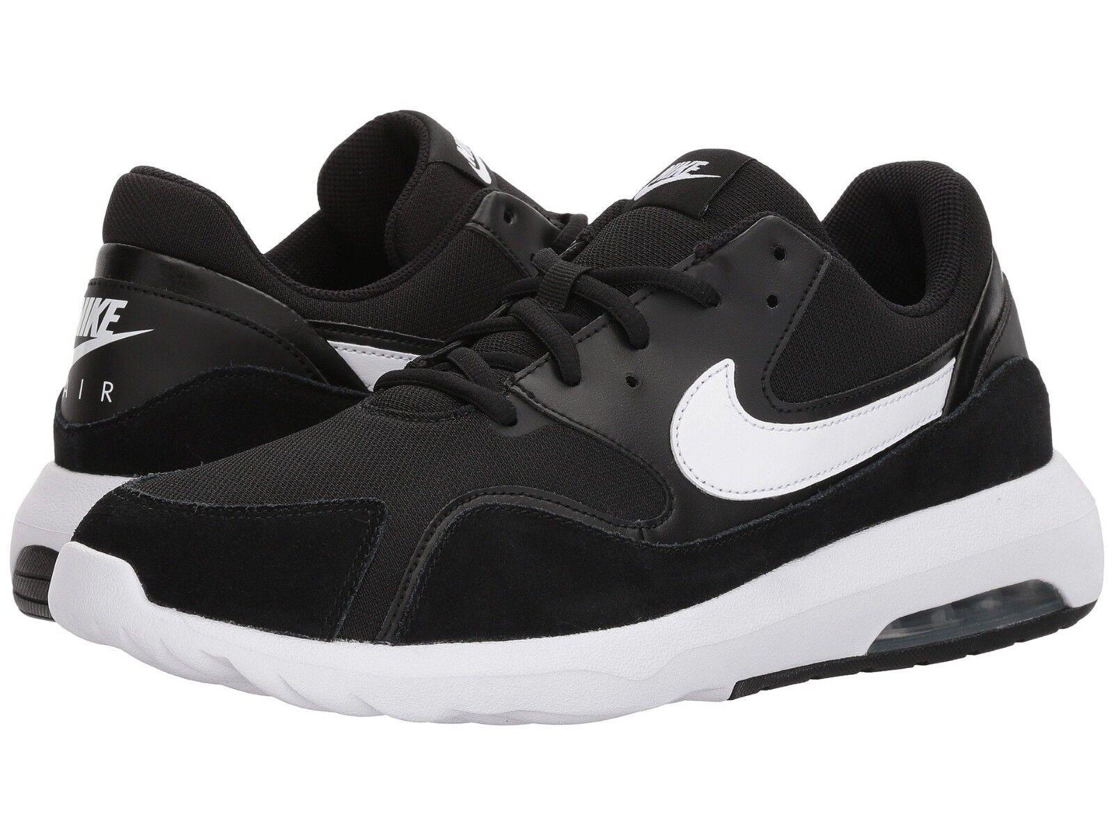 916781-002 Nike Air Max Nostalgic Running shoes Black White Sizes 8-12 NIB