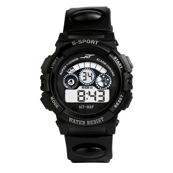 Waterproof Mens Boy's Digital LED Quartz Alarm Date Sports Wrist Watch Hot Sale