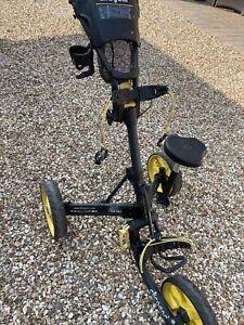 Clicgear model 3.5+ golf push cart *LOADED* Very Nice ...