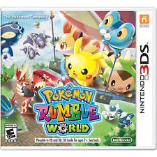 Pokemon Rumble World - Nintendo 3DS Stan VideoGames