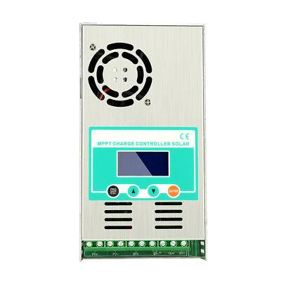 40a 60a Mppt Solar Charge Controller For Dc12v/24v/36v/48v Battery Regulator