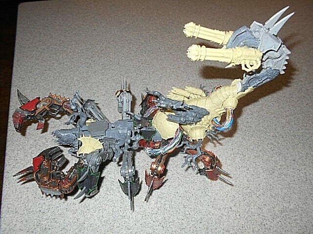 Games Workshop Warhammer 40k Chaos Space Marines Khorne Greater Brass Scorpion A