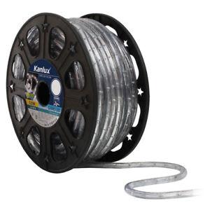 50m-GIVRO-LED-Warm-Kalt-Lichtschlaeuche-Lichtschlauch-Lichtkette-Aussen-230V-IP44