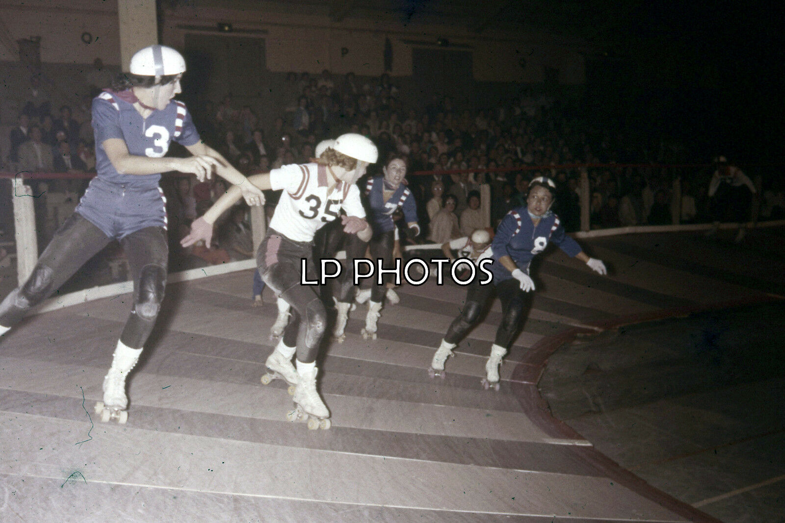4x6 Roller Derby Photo From Early 60s Margie Lazlo 882 Games For